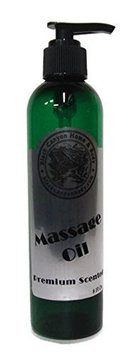 Black Canyon Home and Body Scented Massage Oil Pump Relax Lavender & Vanilla