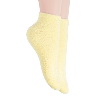 Bucky Aloe-Infused Moisturizing Comfortable Spa Socks for Pedicure Protection