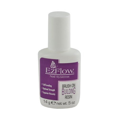 EZ Flow Fiber Glass Brush On Building Resin False Nails
