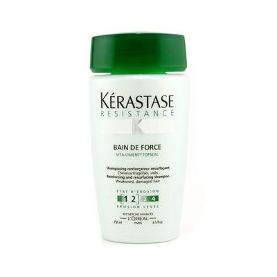 Kerastase Resistance Bain De Force Fortifying Shampoo For Weakened to Fragile Hair