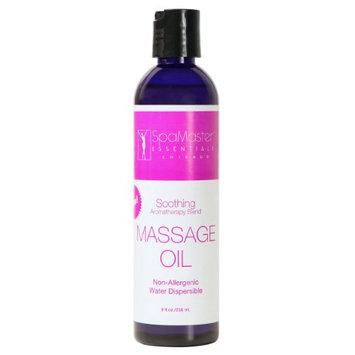 Master Massage superior grade aromatherapy natural massage Oil - 8oz Bottles - Soothing