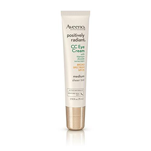 Aveeno Positively Radiant CC Eye Cream SPF25