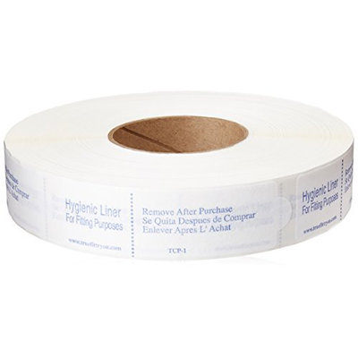 True Fit Try On Tab Cut with Pattern Adhesive Hygienic Liner