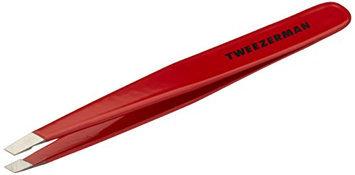 Tweezerman Stainless Steel Slant Signature Red Tweezer