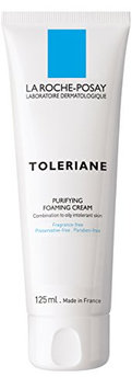 La Roche-Posay Toleriane Purifying Foaming Cream Facial Cleanser for Sensitive Skin with Glycerin