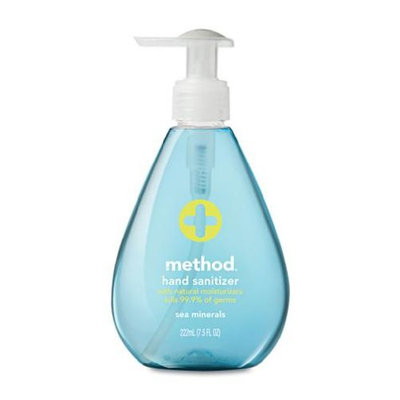 method hand sanitizer sea minerals