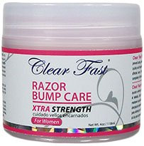 Clear Fast Razor Bump Cream Xtra Strength for Women
