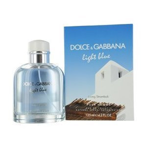 Dolce & Gabbana Light Blue Living Stromboli Pour Homme Eau de Toilette Spray for Men