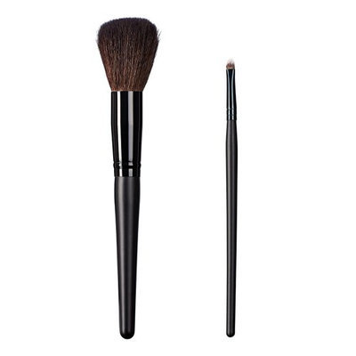 ON&OFF East Meets West Collection Domed Powder and Small Detailer Brush Set