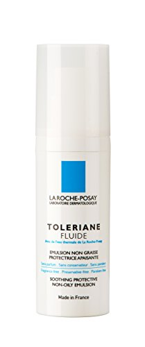 La Roche-Posay Toleriane Fluide Daily Soothing Oil-Free Facial Moisturizer for Sensitive Skin