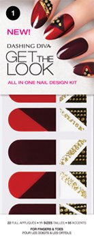 Dashing Diva Design FX Get The Look Red Dutchess
