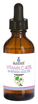 RAPHE PHARMACEUTIQUES High Potency Vitamin C-40% Concentrate Gel in Retinoic Acid