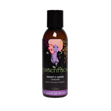 Peachface Sweet N Sassy Cleanser with Organic Lavender and Fragonia