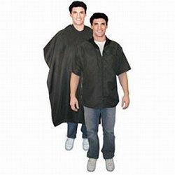 Scalpmaster Barber Jacket And Cutting Cape Set Black