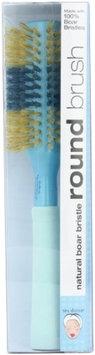Bath Accessories Hair Brush Natural Boar 2.5 Inch Round Stripe