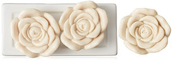 Gianna Rose Tresors du Jardin Soaps with Soap Dish