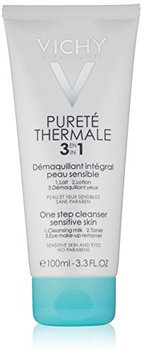 Vichy Pureté Thermale 3-in-1 One Step Cleanser for Sensitive Skin