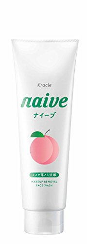 Naive Kracie Makeup Cleansing Foam Peach