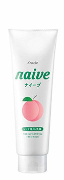 Naive Kracie Makeup Cleansing Foam Peach
