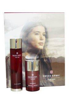 SWISS ARMY for Women Gift Set Eau De Toilette Spray and Deodorant Stick