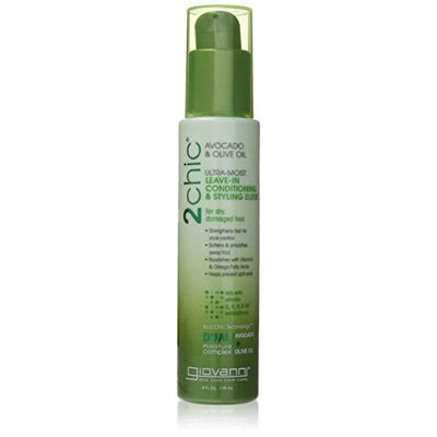 Giovanni 2chic Avocado and Olive Oil Ultra-Moist Leave in Conditioning and Styling Elixir