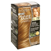L'Oréal Natural Match No-Ammonia Color-Calibrated Creme, Dark Golden Blonde, 7W Warmer