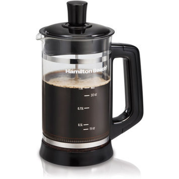 Hamilton Beach French Press with Hot Chocolate Attachment