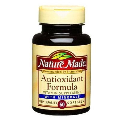 Nature Made Antioxidant Formula, 60 Softgels (Pack of 3)