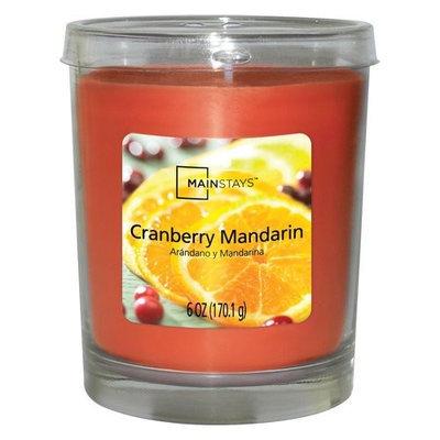 Mainstays Jar Candle, Cranberry Mandarin, 6 oz