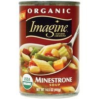 Imagine Organic Classic Minestrone Soup, 14.5-Ounce Can (Pack of 12)
