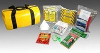 FIELDTEX 3RTU7 First Aid Kit, Yellow, Vinyl