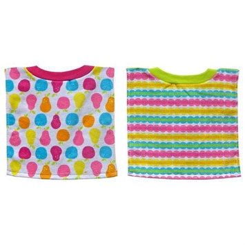 Hamco Bibsters Girl 2 Pack Fruit Pullover Bib Set