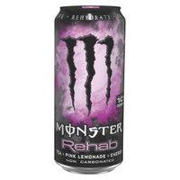 Monster Energy Monster Rehab Tea + Pink Lemonade Energy Drink