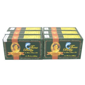 Ventresca Tuna by Paesana (Case of 6 - 4.5 Ounce Cans)