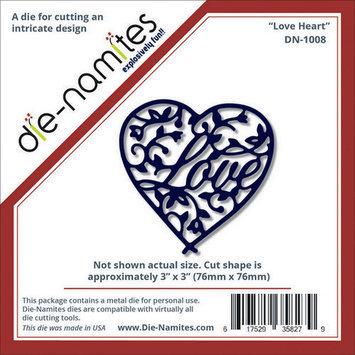 World Taste Corporation Die-Namites Die Namites Die Love Heart