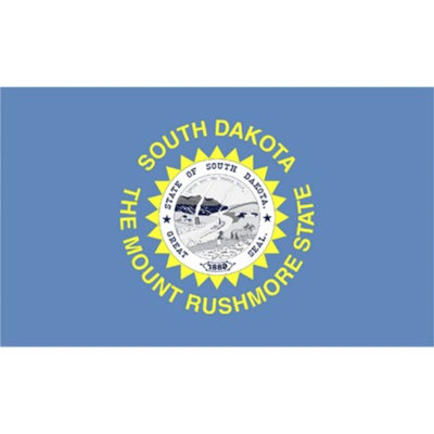 Annin South Dakota State Flag - 4' x 6'