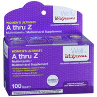 Walgreens Multi Vitamin Ultimate Women's Tablets