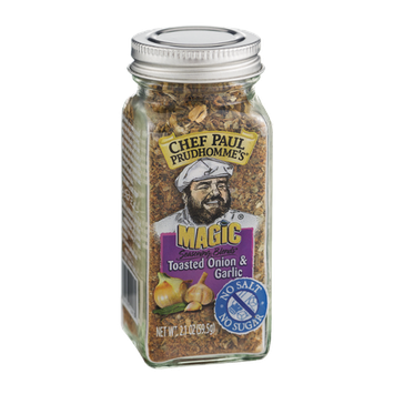 Chef Paul Prudhomme's Magic Seasoning Blends Toasted Onion & Garlic