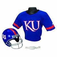 Franklin Sports Kansas Helmet/Jersey set- OSFM ages 5-9