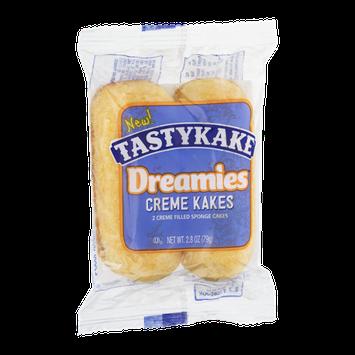Tastykake Dreamies Creme Kakes Creme Filled Sponge Cakes - 2 CT