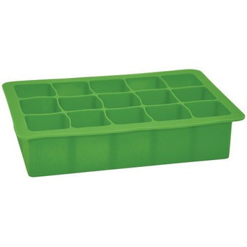 i Play - Green Sprouts Silicone Baby Food Freezer Tray 15 x 1 oz. Cubes Green