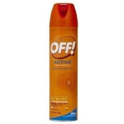 Off Insect Repellents Off Active Insect Repellent Aerosol Spray, Sweat Resistant - 9 Oz