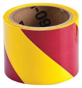 BRADY 55314 Warning Tape, Roll,3In W,54 ft. L