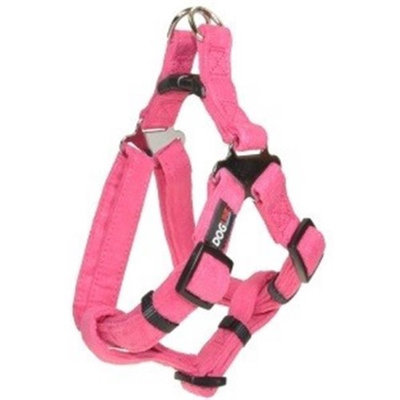 Dogline Comfort Microfiber Soft Padded Step In Pet Puppy Dog Harness Nylon Reinforecement (5 sizes and 8 colos available)