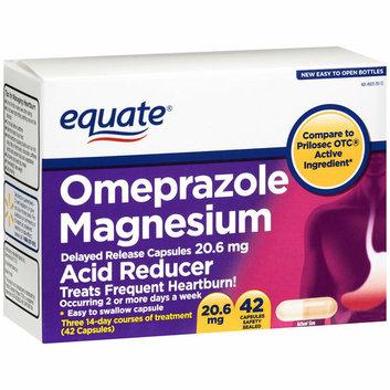 Equate Omeprazole Magnesium Capsules 20.6mg