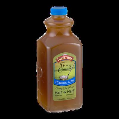 Turkey Hill Pure & Chilled Half & Half Iced Tea/Lemonade Classic Lite