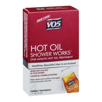 Alberto VO5 Hot Oil Shower Works - 4 CT