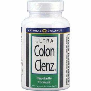 Natural Balance Ultra Colon Clenz 120 Vegetarian Capsules