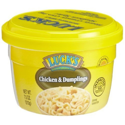 Luck's Chicken & Dumpling, 7.5-Ounce Microwavable Bowls (Pack of 12)
