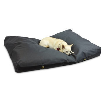 Snoozer Gunmetal 100% Polyester Rectangular Dog Bed 77005